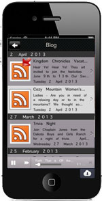 Mobile App RSS and  Blog Feed
